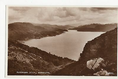 Barmouth, Panoramic View RP Postcard, A487