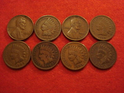 8 US Cents 1884 - 1943