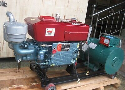 Brand New 10000W 10Kw Diesel Powered Generator Free Shipped by Sea