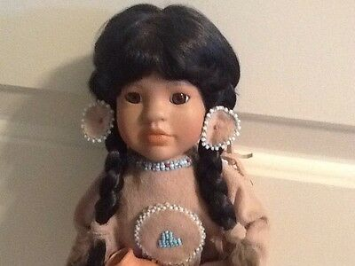 """""""Many Stars"""" Indian American Diary Dolls By Linda Mason Georgetown Collection"""
