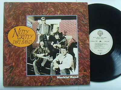 "Nitty Gritty Dirt Band - Workin` Band 12"" Lp 1988"