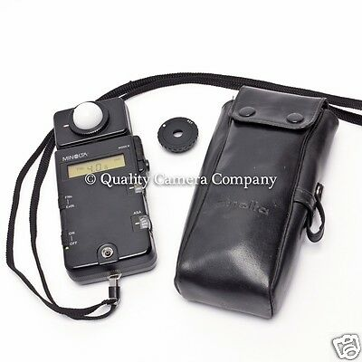 Minolta Flashmeter III - PRO METER - FLASH/AMBIENT INCIDENT/REFLECTED - AWESOME!