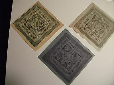 german currency notes 1920