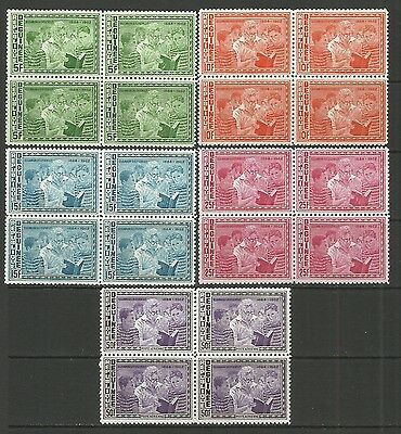 Human rights-Roosevelt-1964 Republic of Guinea-MNH block of 4 complete set