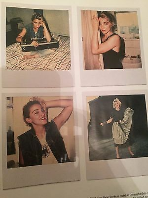 Madonna in 1983 - The Lost Photographs UK Magazine 2016