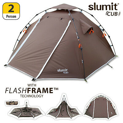 New Quick Pitch Pop Up 1 - 2 Man Sleeper Person Berth Popup Compact Bivvy Tent