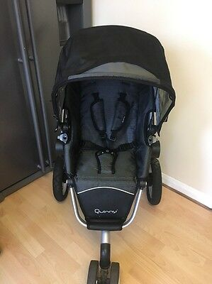 Quinny Buzz Black Reflection Full Seat Unit ONLY, VGC