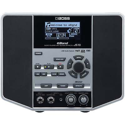 Boss JS10 Audio Player with Guitar Effects