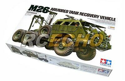 Tamiya Military Model 1/35 M26 Armored Tank Recovery Vehicle Scale Hobby 35244