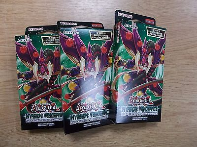3x INVASION VENGEANCE YU GI OH SPECIAL EDITION BOX OVP 3x3 Booster deutsch