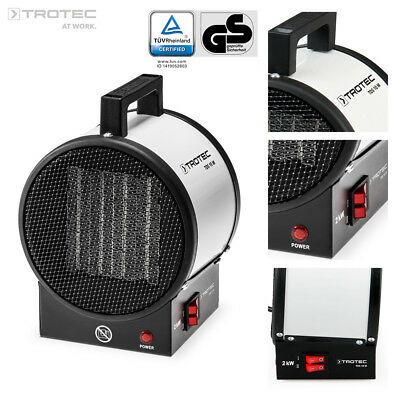TROTEC TDS 10 M Electric Heater Industrial Cylinder Warehouse Fan Heaters 2 kW