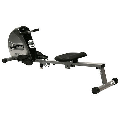 Charles Bentley Foldable Pulley Indoor Cardio Home Gym Rower Rowing Machine