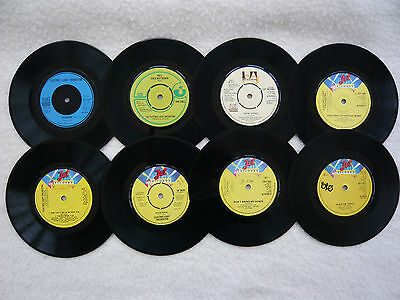 "JOBLOT "" ELECTRIC LIGHT ORCHESTRA"" 45rpm SINGLES - 8 RECORDS."
