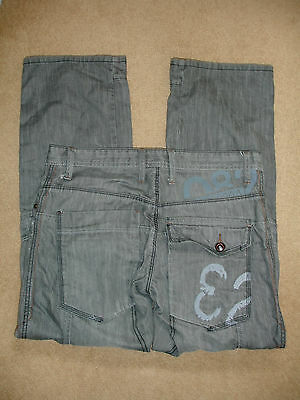 NEXT Grey Button-fly Jeans - Size 30S - NEW