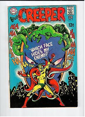 DC BEWARE THE CREEPER #4 Ditko Cover and art 1968 Vintage Comic