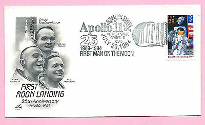 APOLLO 11 - 25th Anniversary MOON LANDING - 1994 Cover - KENNEDY SPACE CENTER