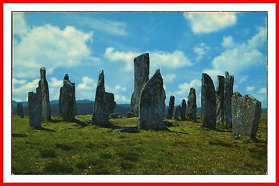 The Standing Stones Of Callanish Isle Of Lewis Outer Hebrides Scotland Postcard