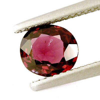 1.22 Ct Red Sri Lanka Spinell Oval Facet + ZERTIFIKAT