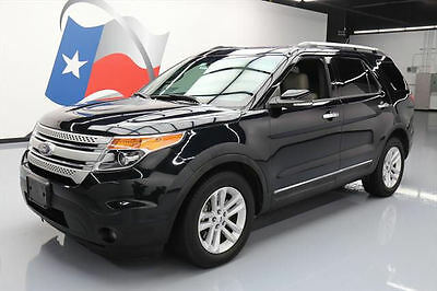 2014 Ford Explorer  2014 FORD EXPLORER 7-PASS HTD LEATHER NAV REAR CAM 66K #A63655 Texas Direct Auto