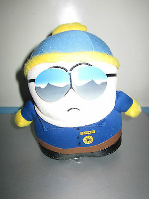South Park Officer Cartman Plush Toy Doll Figure By Fun 4 All With Cup