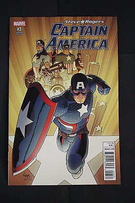 Captain America Steve Rogers #3 Kuder 1:25 Incentive Variant Edition Cover  2016