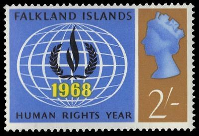 FAKLAND ISLANDS 165 (SG231) - Human Rights Flame (pf47727)