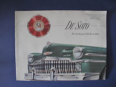 1949 DeSoto Full Line Sales Brochure C5936