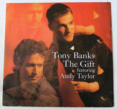 """TONY BANKS and  ANDY TAYLOR UK 1989 12"""" Single THE GIFT    DiscNEW"""