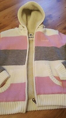 girls soulcal hooded thick chunky cardigan / jacket age 13 bnwot