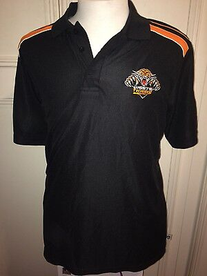 """New With Tags Wests Tigers NRL Rugby League 36"""" Medium Mens Polo Shirt Top"""