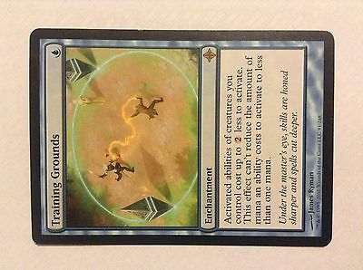 TRAINING GROUNDS Magic the Gathering card