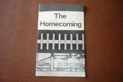 Collectable Harold Pinter Theatre Program The Homecoming 1972