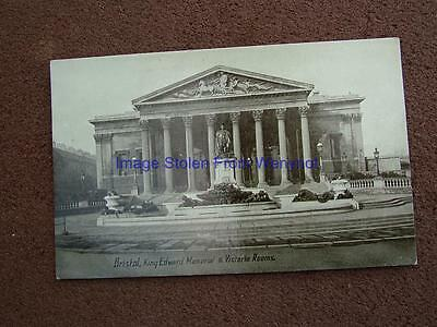 1900s Photo Postcard King Edward Memorial & Victoria Rooms,Bristol.