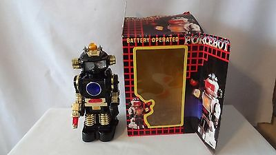 Botoy Forcebot 1985 Galactico 3366 Robot Battery Operated MIB #H873.