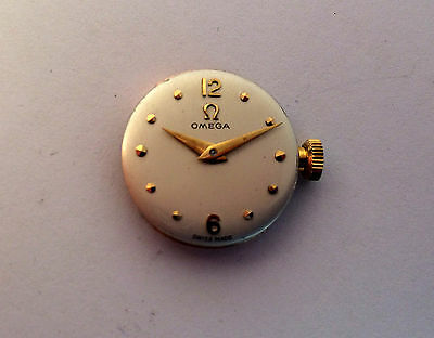 Omega Ladies Watch Movement -  Spares or Repair cal 244 Runner Good Dial
