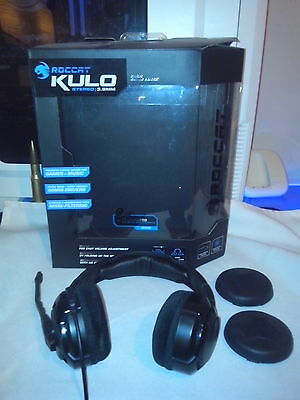 Roccat KULO Gaming PC Headset + Extra Earpads & Boxed