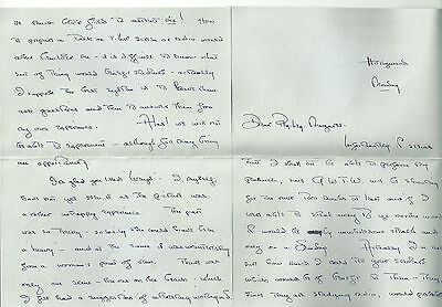 OLIVIA DE HAVILLAND HAND-WRITTEN 5 pg. 1939 LETTER PSA CERT GONE WITH THE WIND!!