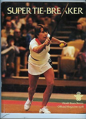 *1978 San Diego Friars World Team Tennis 100+ page program