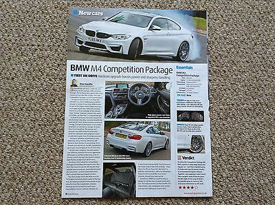 NEW BMW M4 Competition Package - First Drive Article