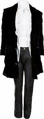 Alice Cooper Owned & Worn 3 Piece Outfit Jacket Leather Pants Hollywood Vampires