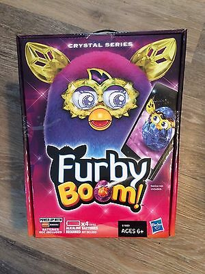 Furby Boom Crystal Series Pink Blue Furby Interactive Plush Talking Pet Toy New
