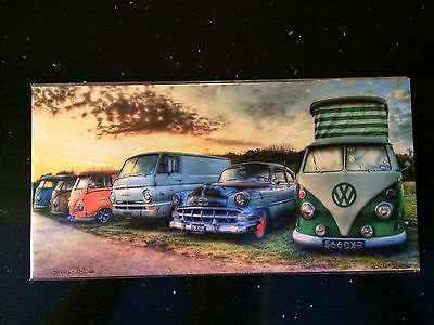 VW Campervan Print Picture Christmas Present Stocking Filler