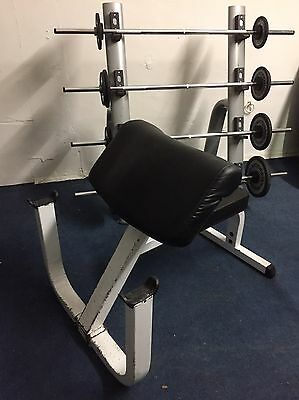 Technogym Barbell Set And Rack