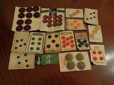 Collection Of Unused Vintage Buttons