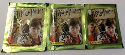 Harry Potter & The Deathly Hallows Part 1 Stickers - 3 Sealed Packets