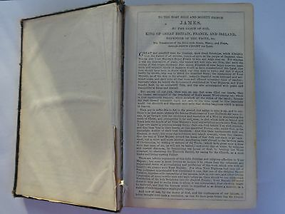 Vintage King James version Holy Bible New and Old Testaments gilt edged