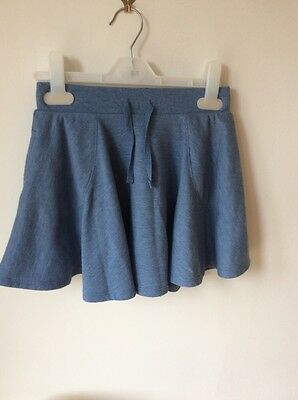 girls blue skirt by next age 6 years