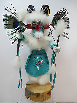 Kachina Doll - Antelope Dancer - Navajo - Signed - #651