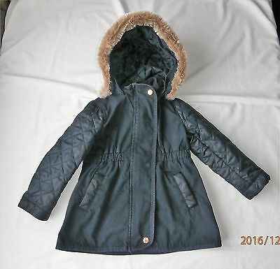 ted baker girls lightweight coat age 2- 3 years