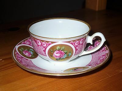 Weimar Roses Cup And Saucer